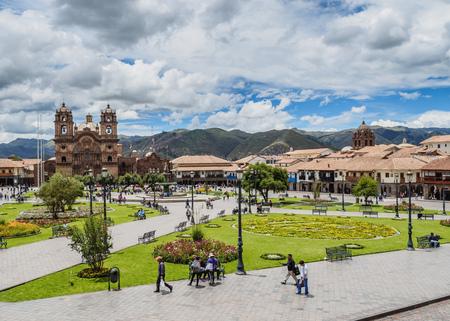 Main Square, Old Town, Cusco, Peru