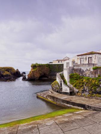 Porto Velho, old port, Santa Cruz das Flores, Flores Island, Azores, Portugal