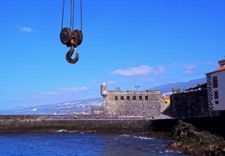 Bateria de Santa Barbara, fortification, Puerto de la Cruz, Tenerife Island, Canary Islands, Spain