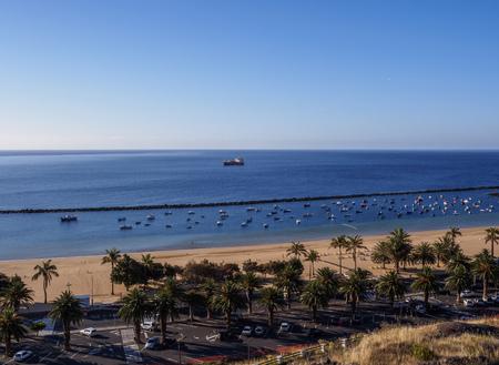 Las Teresitas Beach, San Andres, Tenerife Island, Canary Islands, Spain