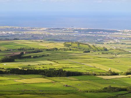 View from Serra do Cume, Terceira Island, Azores, Portugal