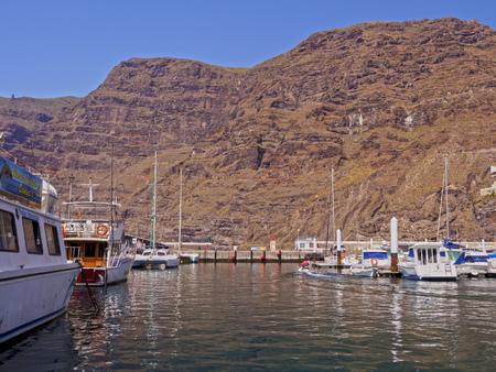 Port in Acantilados de los Gigantes, Tenerife Island, Canary Islands, Spain