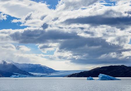 View towards Upsala Glacier, Los Glaciares National Park, Santa Cruz Province, Patagonia, Argentina