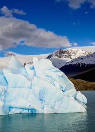 Iceberg on Lake Argentino, Los Glaciares National Park, Santa Cruz Province, Patagonia, Argentina Stock Photo
