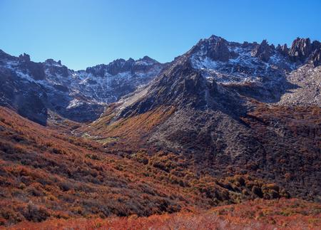 Autumn in Nahuel Huapi National Park, Rio Negro Province, Argentina