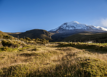 Chimborazo Volcano, Chimborazo Province, Ecuador 스톡 콘텐츠 - 118961397