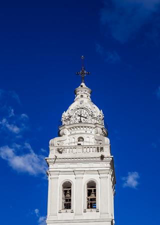 Church of Santo Domingo, detailed view, Plaza de Santo Domingo, Old Town, Quito, Pichincha Province, Ecuador