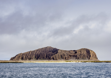 Landscape of the northern part of San Cristobal or Chatham Island, Galapagos, Ecuador