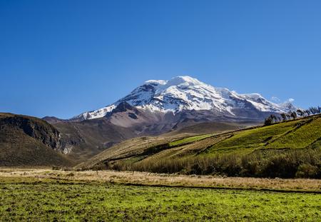 Chimborazo Volcano, Chimborazo Province, Ecuador