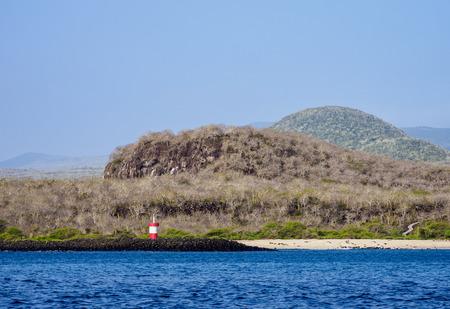 Landscape of San Cristobal or Chatham Island, Galapagos, Ecuador