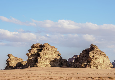 Landscape of Wadi Rum, Aqaba Governorate, Jordan