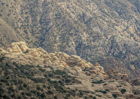 Dana Biosphere Reserve, elevated view, Tafilah Governorate, Jordan