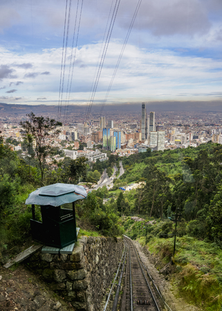 Funicular to Monserrate, Bogota, Capital District, Colombia