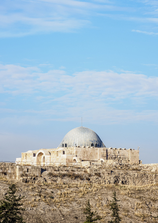 Umayyad Palace, Amman Citadel, Amman Governorate, Jordan Imagens
