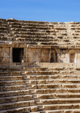 North Theater, Jerash, Jerash Governorate, Jordan