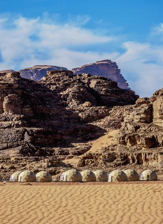 Sun City Camp, Wadi Rum, Aqaba Governorate, Jordan 版權商用圖片