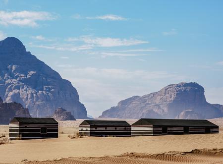 Camp at Wadi Rum, Aqaba Governorate, Jordan