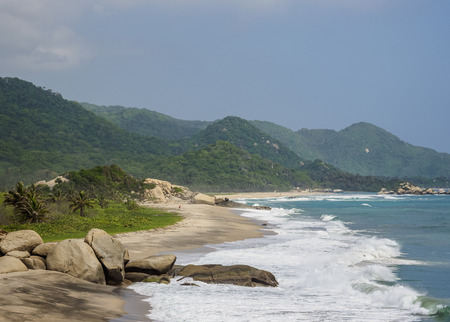 Arrecifes Beach, Tayrona National Natural Park, Magdalena Department, Caribbean, Colombia