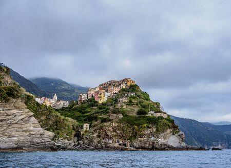 Corniglia, Cinque Terre 写真素材