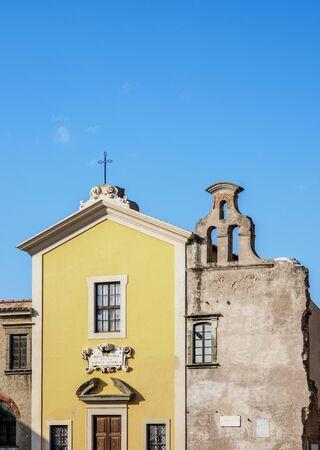 Church of Luogo Pio, Livorno, Tuscany, Italy Imagens - 127600326