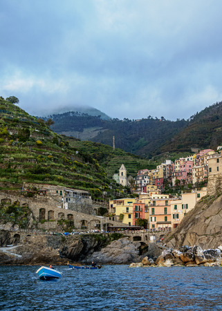 Manarola, Cinque Terre, UNESCO World Heritage Site, Liguria, Italy