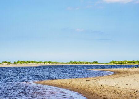 Mewia Lacha Natural Reserve, Pomeranian Voivodeship, Poland 写真素材