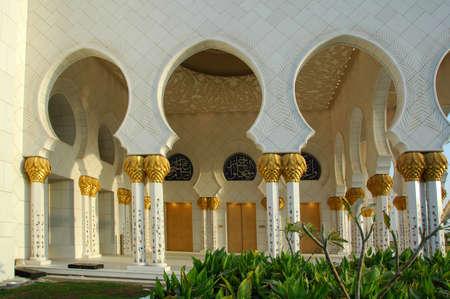 Sheikh Zayed Al Nayhan Mosque Stock Photo - 20711249