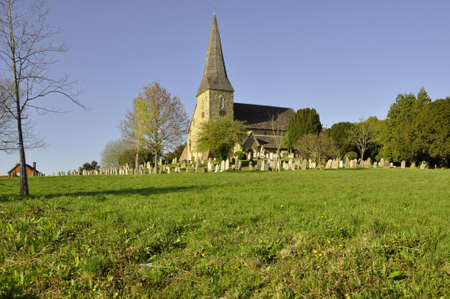 Church at Wisborough, E. Sussex. A centuries old country church, found here in a rural area of Great Britain Imagens