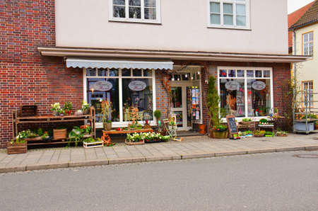 A blooming business enterprise here in a small Westphalian town in Germany