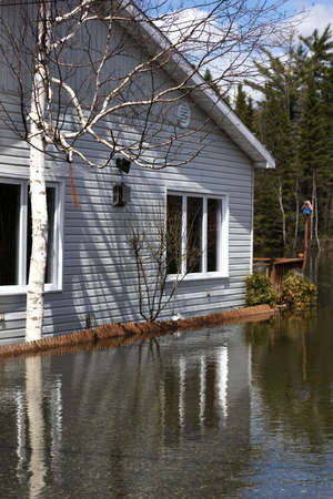 act of god: Flooded Home