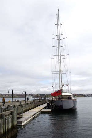 Tall Ship in Halifax Harbour photo