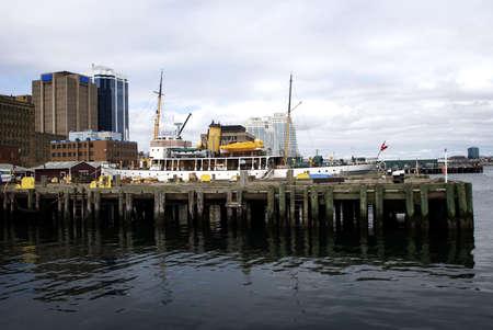 Dock in Halifax Harbour photo