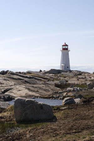Peggys Cove Lighthouse photo