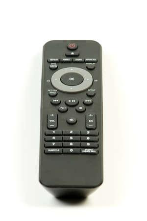 Single television remote isolated on white background Stock Photo - 4428832