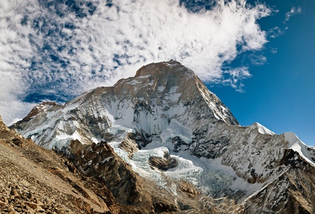 The West Face of Makalu - Fifth Highest Mountain in the World