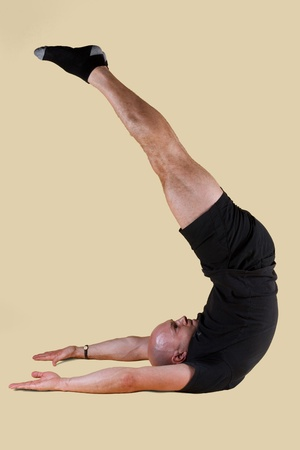 Pilates Position - Jack Knife photo