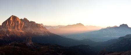 Sunrise from Nuvolau