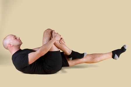 Pilates Position - Single Leg Stretch