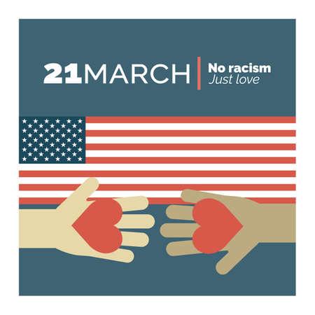 人種差別を停止します。我々 は、平等をしたいです。