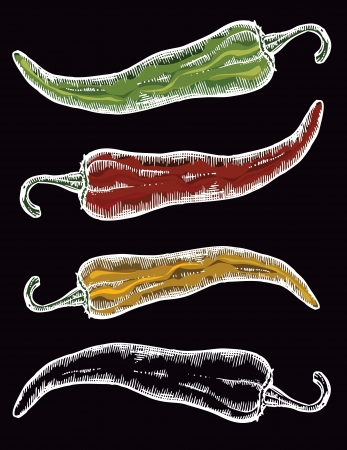 Paprika, pepper