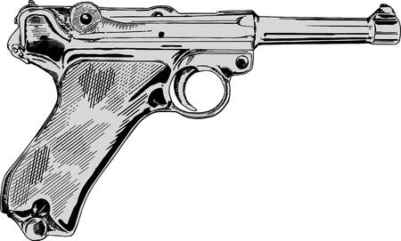 old guns, Stock Vector - 17992032