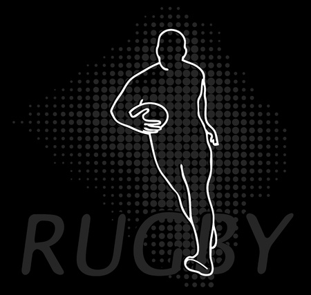 Rugby modification  Vector