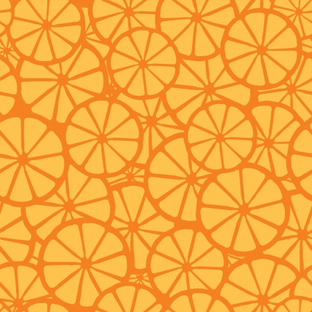 orange juice pattern, orange  Vector