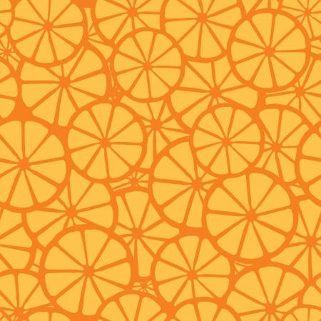 orange juice pattern, orange  Illustration