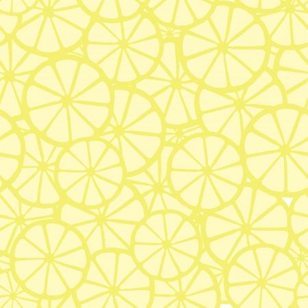 lemon pattern, yellow