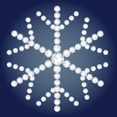 diamond flake Stock Vector - 18093025