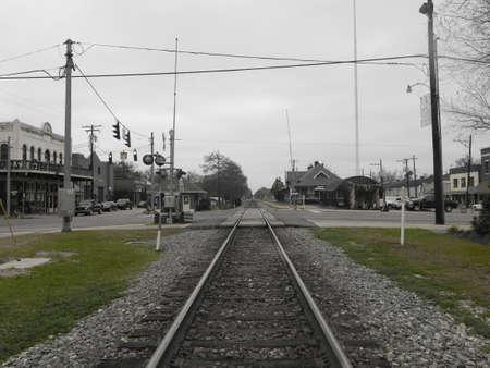 orleans parish: Train Tracks
