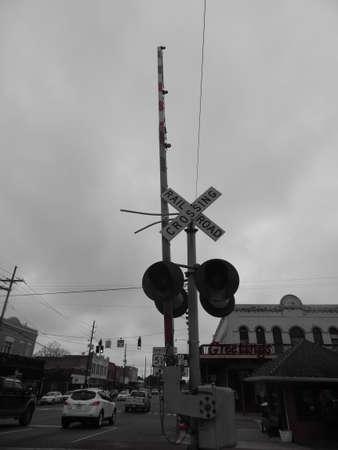 orleans parish: Railroad Crossing Sign