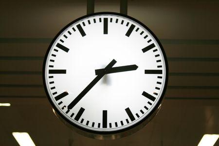 White clock, Thailand. photo