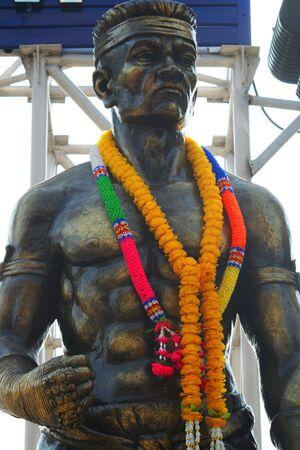 Thai boxer statue, Thailand. Stock Photo - 7423345
